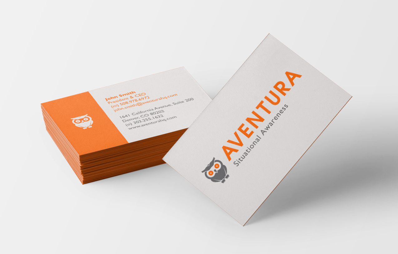 Aventura - Business Card Design