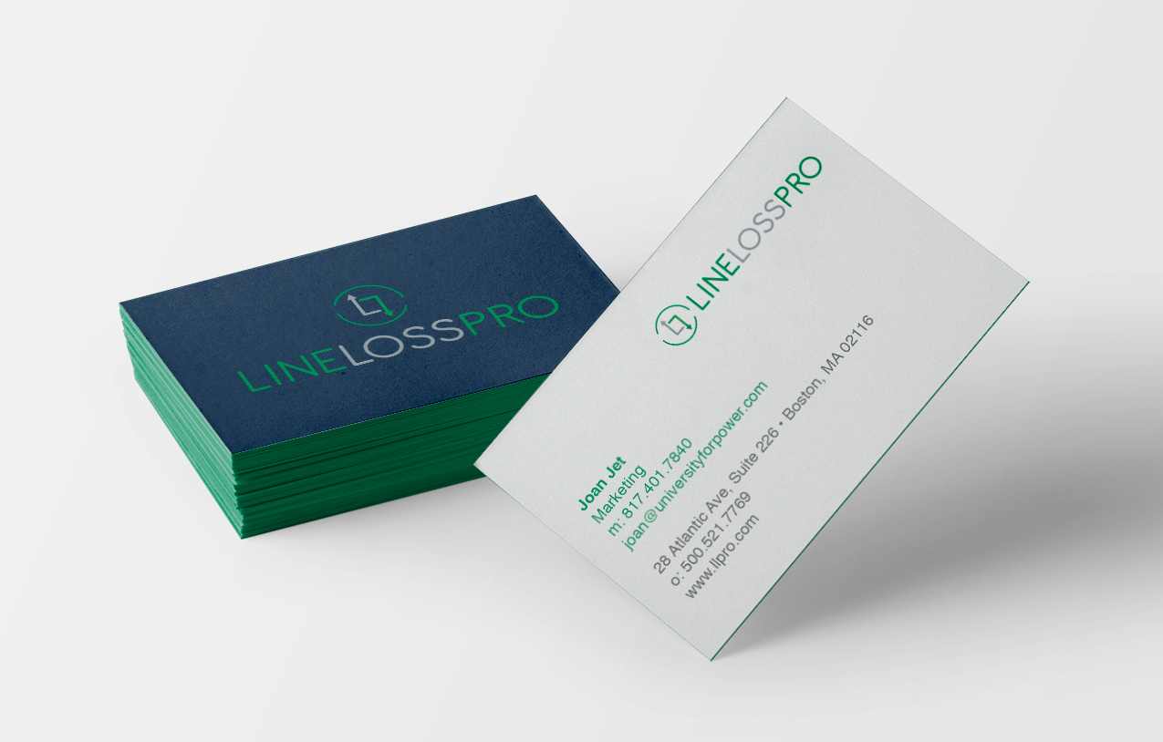 LLPro - Business Card Design