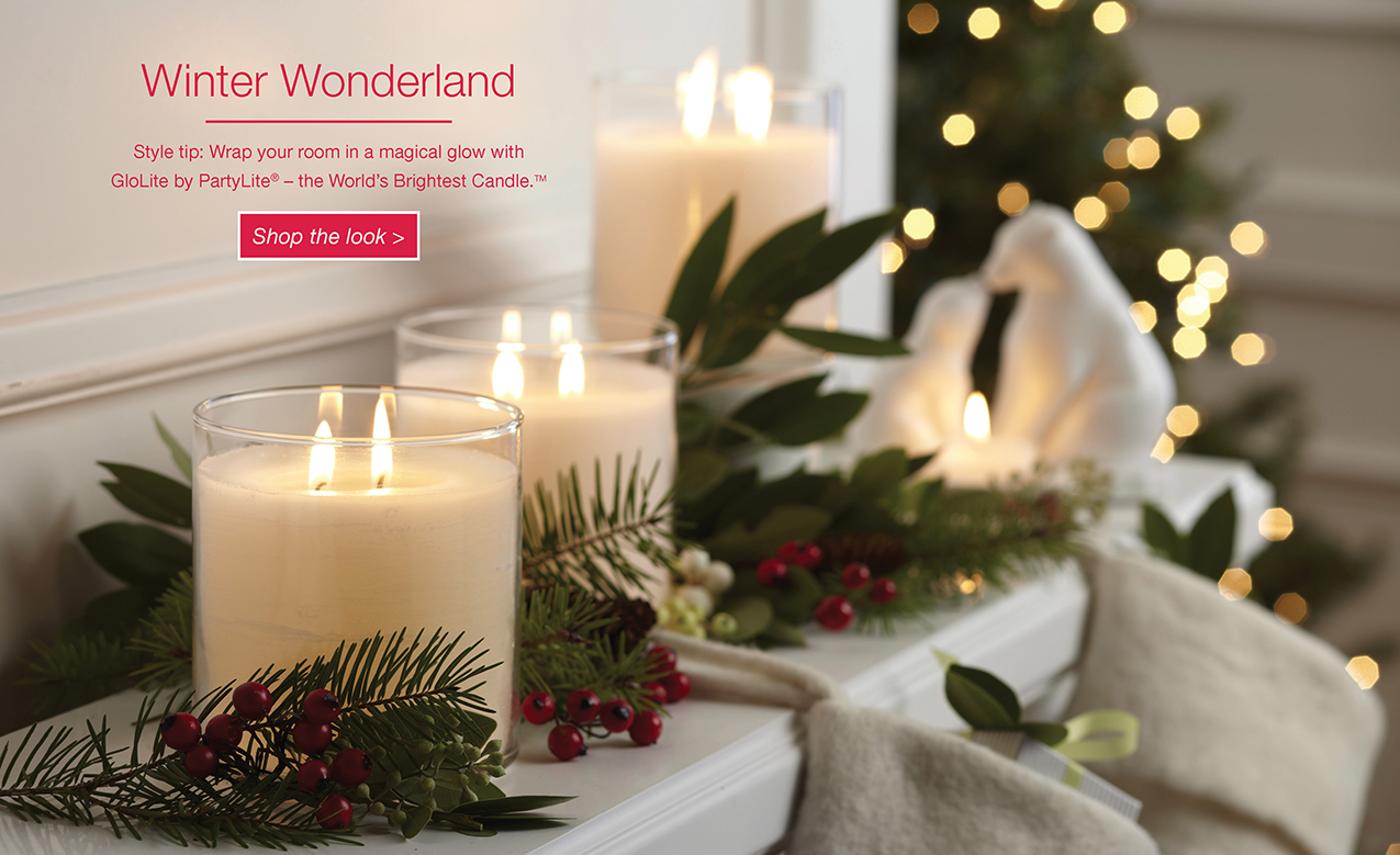PartyLite Holiday Catalog
