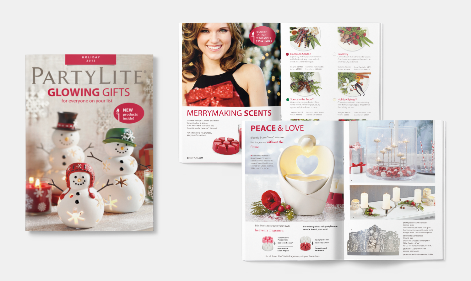 Partylite - Holiday Catalog