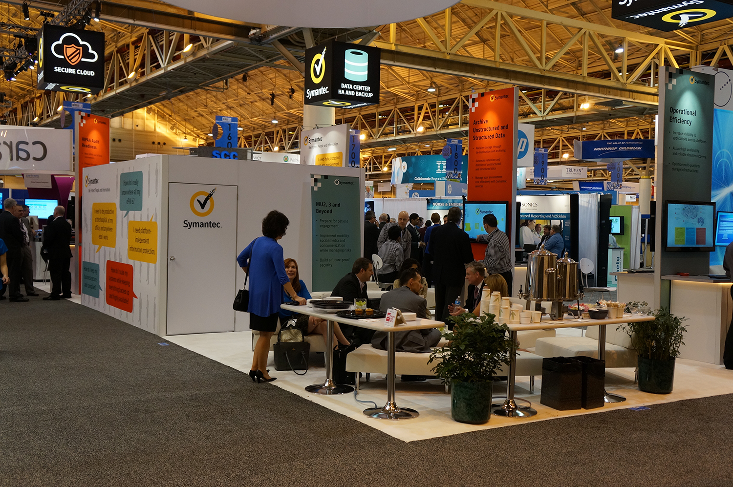 Booth Design - HIMSS13