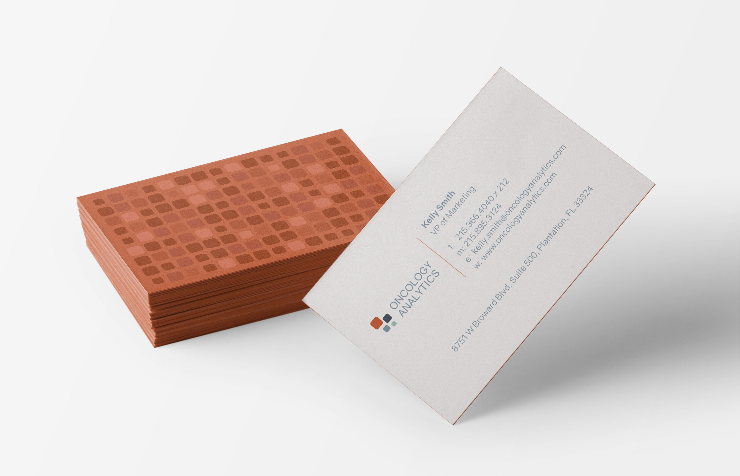 Oncology Analytics - Business Cards
